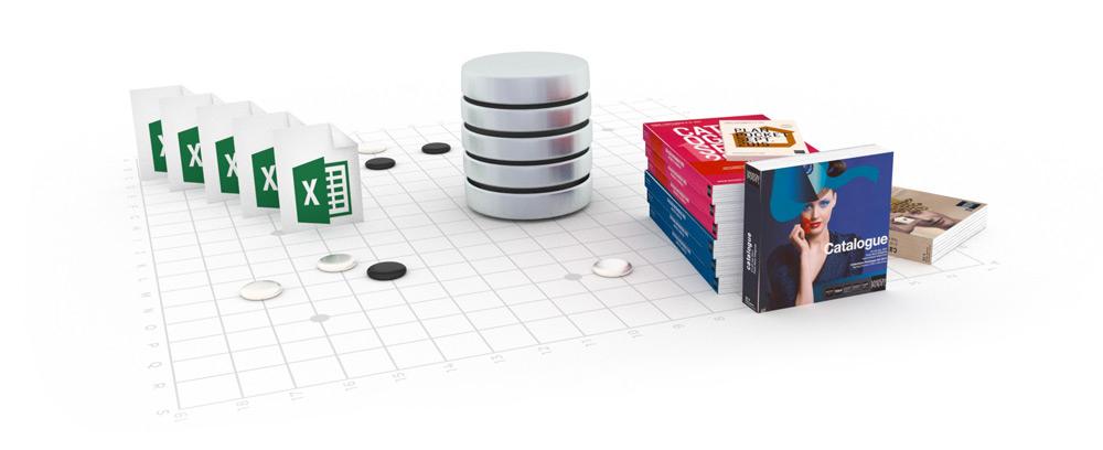 Mise en page automatisée de données